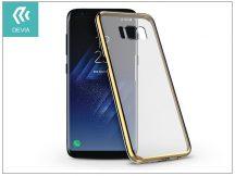Samsung G950F Galaxy S8 hátlap - Devia Glimmer - champagne gold