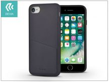 Apple iPhone 7/iPhone 8 hátlap - Devia iWallet - black