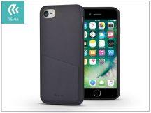 Apple iPhone 7/iPhone 8 hátlap - Devia iWallet - black