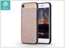 Apple iPhone 7/iPhone 8 hátlap - Devia Racy - champagne gold