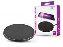 Setty Qi univerzális vezeték nélküli töltő állomás - 10W - Setty Wireless Charger - Qi szabványos - fekete