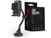 Maxlife univerzális műszerfalra/szélvédőre helyezhető PDA/GSM autós tartó - Maxlife MXCH-04 Car Holder - fekete