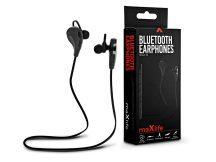Maxlife Sport Bluetooth sztereó fülhallgató v3.0 - Maxlife MXEP-10 Bluetooth Earphones - fekete