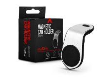 Maxlife univerzális szellőzőrácsba illeszthető mágneses PDA/GSM autós tartó - Maxlife MXCH-13 Magnetic Car Holder - fekete