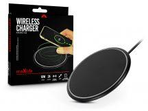 Maxlife Qi univerzális vezeték nélküli töltő állomás - 5V/2A - 10 W - Maxlife MXWC-02 Wireless Charger - Qi szabványos - fekete
