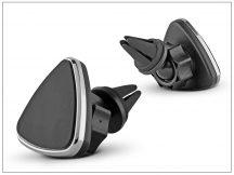Univerzális szellőzőrácsba illeszthető mágneses PDA/GSM autós tartó - állítható fejjel