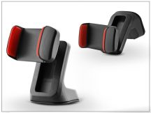 Univerzális PDA/GSM autós tartó - fekete/piros