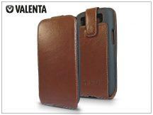 VALENTA CLASSIC FLIP bőrtok - Samsung i9300 Galaxy S III - brown