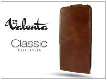 VALENTA CLASSIC FLIP bőrtok - Apple iPhone 5/5S - brown