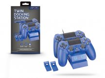 Venom VS2738 Twin Docking Station töltőállomás - PS4 - kék