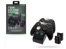 Venom VS2851 Twin Docking Station töltőállomás + 2 db akkumulátor - Xbox One - fekete