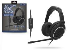 Venom VS2855 Nighthawk mikrofonos gamer fejhallgató - fekete