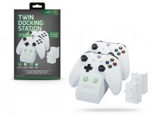 Venom VS2859 Twin Docking Station töltőállomás + 2 db akkumulátor - Xbox One - fehér