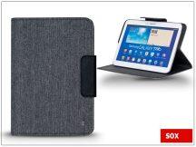 SOX univerzális tok 8&quot, méretű tablet készülékekhez - SMART DECO TABLET - fekete