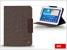 SOX univerzális tok 8&quot, méretű tablet készülékekhez - SMART DECO TABLET - barna